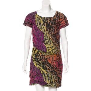 NWOT Diane von Furstenberg Erosa silk dress 12